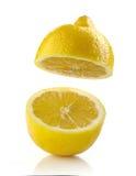 Ny halv citron Royaltyfri Bild