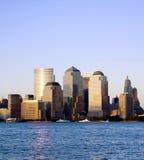 ny handelvärld york för center stad Royaltyfria Foton