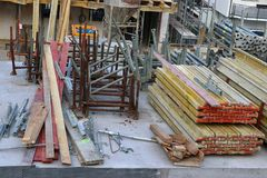 Ny hem- konstruktionsplats i Tyskland royaltyfri bild