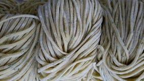Ny hemlagad pasta Royaltyfria Bilder