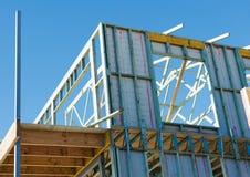 Ny home konstruktion Royaltyfri Foto