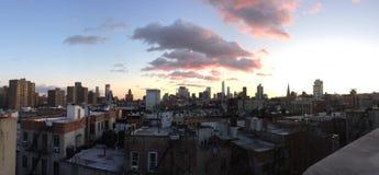 ny horisont york Fotografering för Bildbyråer