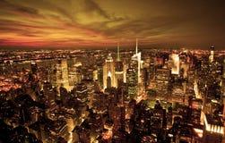 ny horisont york Arkivbild
