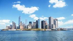 ny horisont york royaltyfria foton