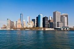 ny horisont york Royaltyfri Bild