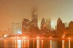 ny horisont york för stad Royaltyfri Fotografi