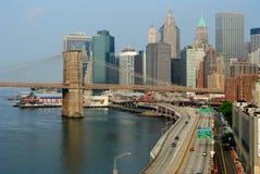 ny horisont york för stad Royaltyfri Foto