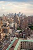 ny horisont york för stad Royaltyfri Bild