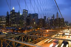 ny horisont york för stad Royaltyfria Foton