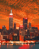 ny horisont york för stad arkivfoton