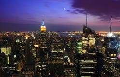ny horisont york för stad royaltyfria bilder