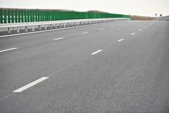 Ny huvudväg royaltyfri foto