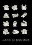 NY icons Royalty Free Stock Photography