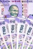 Ny indier hundra rupier sedlar royaltyfria foton