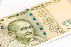 Ny indier 500 rupier sedel royaltyfria foton