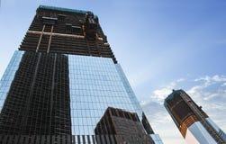 Ny internationell handel Centar i New York City Manhattan Fotografering för Bildbyråer