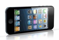 Ny iPhone 5 Fotografering för Bildbyråer