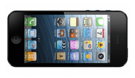 Ny iPhone 5 Royaltyfria Bilder