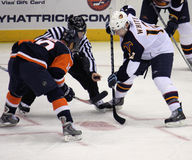 NY Islanders Vs. Atlanta Thrashers Royalty Free Stock Photos
