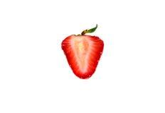 ny isolerad jordgubbe Royaltyfria Bilder