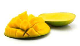 ny isolerad mango Arkivbilder