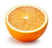 ny isolerad orange white för bakgrund arkivfoton