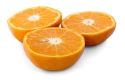 ny isolerad orange white för bakgrund Royaltyfria Bilder
