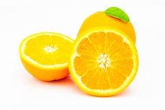 ny isolerad orange white för bakgrund Royaltyfri Bild