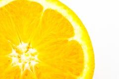 ny isolerad orange white för bakgrund Royaltyfri Fotografi