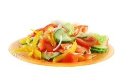 ny isolerad salladgrönsakwhite Royaltyfri Fotografi