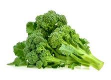 ny isolerad white för bakgrundsbroccoli royaltyfri fotografi