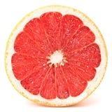 ny isolerad white för grapefrukt hälft Arkivbild