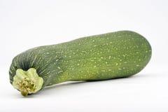 ny isolerad zucchini Fotografering för Bildbyråer