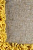 ny italiensk pasta Arkivfoto