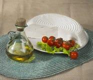 ny italiensk primosale för ost Royaltyfria Foton
