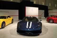 Ny italiensk sportbil Royaltyfri Fotografi