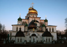 ny jerusalem kloster Royaltyfria Bilder