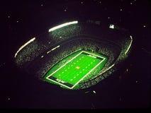 NY Jets am alten Wiesen-Stadion Lizenzfreie Stockfotos