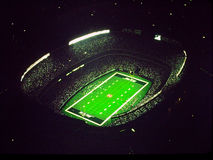 NY Jets at Old Meadowlands Stadium Royalty Free Stock Photos