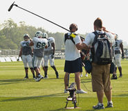 Ny jets training camp Stock Photography