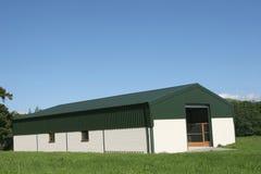 ny jordbruks- ladugård Royaltyfri Bild