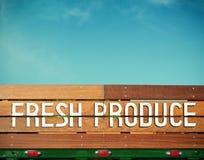 Ny jordbruksprodukter Arkivbilder