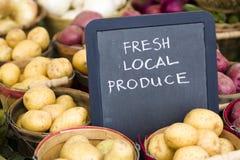 Ny jordbruksprodukter Arkivfoton