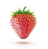 Ny jordgubbe royaltyfri illustrationer