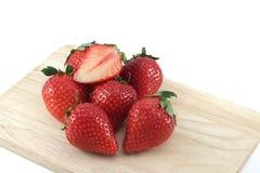 ny jordgubbe arkivbild