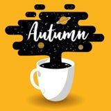 ny kaffekopp royaltyfri illustrationer