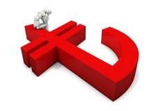 ny kalkon för 2 lira logo Royaltyfria Foton