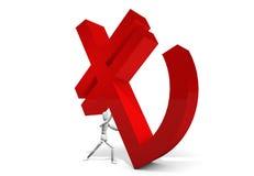 ny kalkon för logo Royaltyfri Bild
