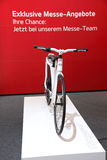 Ny KIA cykel på AMIEN Leipzig Tyskland Arkivfoto