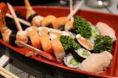 Ny kinesisk mat för sushi Royaltyfria Foton